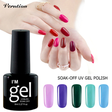 8ml Red series Gel Nail Polish UV Gel Varnish Soak-off UV Gel Polish Lacquer With High Quality Grey Series Color Nail Art