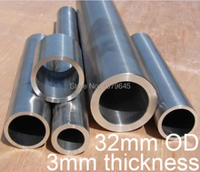 32mm OD 26mm ID 32*3*500 GR2 titanium tube TA2 titanium alloy pipe anti-corrosion high temperature pressure Ti tubing