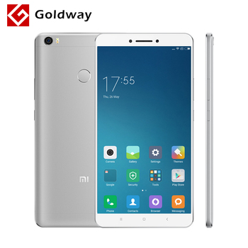"Original Xiaomi Mi Max Mimax 6.44"" 4850mAh Mobile Phone Snapdragon 652 Octa Core 1920x1080P 4GB RAM 128GB ROM Fingerprint ID"