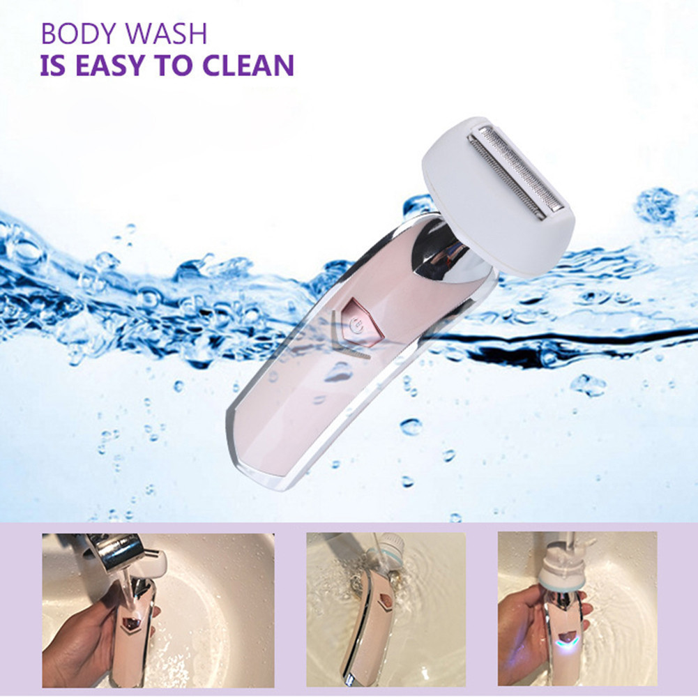 Electric Wash Face Machine Facial Pore Cleaner Body Cleaning Massage Skin Beauty Massager Brush Facial Cleansing Brush Shaver <br>