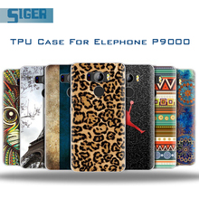 Buy Elephone P9000 Case 1MM Soft Matte TPU Luxury Phone Bag Ultra Slim Art Design Pattern Painting Shell Funda Elephone P9000 for $2.54 in AliExpress store