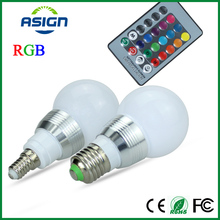 E27 E14 RGB Bulb Lamp AC100-240V 5W LED Spot Light Dimmable Magic Holiday RGB Lighting IR Remote Control 16 Colors 270 Degree