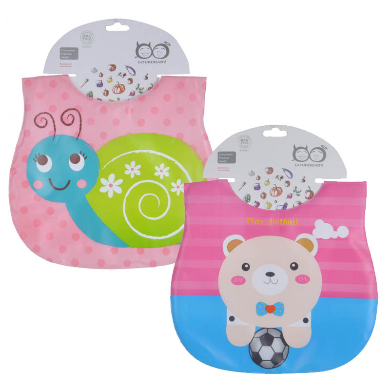 Mother Nest 2 Pcslot Waterproof Baby Bibs babador baby feeding bandana baby bibs babet for Lunch (2)