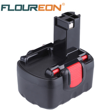 For Bosch 14.4V 2000mAh Ni-CD Rechargeable Battery FLOUREON Power Tools Batteries for Drill BAT038 15614 1661 1661K 22614 3660CK(China)