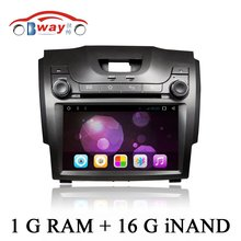 Bway 1024*600 Android 6.0 car Radio for 2013 CHEVROLET S10 car dvd player with 1G RAM,16G iNAND,Steering wheel, External MIC