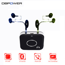 DBPOWER Wireless NFC Bluetooth Audio Receiver A2DP 3.5mm Audio Speaker Bluetooth Receiver Adapter Stereo Output For Sound System
