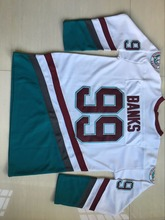99 Adam Banks Jersey,Adam Bank Anaheim Mighty Ducks Movie Jersey,Stitched Throwback Hockey Jersey S-3XL Free Shipping Viva Villa(China)