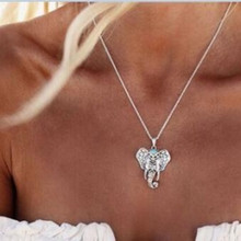 The new jewelry retro storms Simian Necklace Pendant  elephant necklace chain necklace