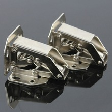 1PCS 90 Degree Cabinet Cupboard Sprung Door Hinges Easy Mount Concealed Kitchen Cabinet Cupboard Sprung Door Hinges Use(China)