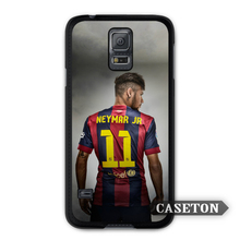Neymar JR Football Gunner Case For Galaxy S7 S6 Edge Plus S5 S4 Active S3 mini Win Note 5 4 3 A7 A5 Core 2 Ace 4 3 Mega