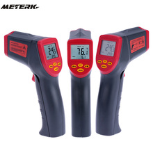 Digital laser Infrared IR Thermometer Gun Handheld Non-contact -32~530C(-26~986F) Temperature Tester Pyrometer W/ LCD Backligh(China)