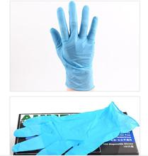 500 love mas nitrile disposable gloves nitrile food domestic laboratory clean rubber gloves from mail
