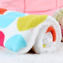 SWAMPLAND Dog Blanket Fleece Pet Blanket For Puppy Dogs Cats Bed For Big Dogs Cat Print Mat Soft Cushion Warm Quilt Cotton
