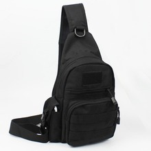 New Men 1000D Nylon Military Travel Riding Shoulder Messenger Pack Sling Chest Waterproof Bag