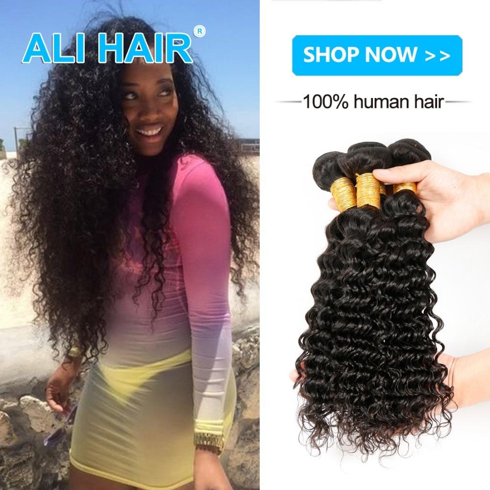 8A Mongolian Deep Wave Mongolian Hair 3 Bundles Hair Product Deep Curly Mongolian Virgin Hair  Unprocessed Deep Wave Human Hair <br><br>Aliexpress