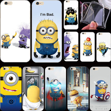 5C Popular Design Silicon Cover Despicable Yellow Minion Case For Apple iPhone 5C iPhone5C Phone Cases Shell Top Fashion Newest