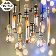 Buy Lightinbox Retro E27 Spiral Incandescent Light Novelty Fixture Glass LED Edison Bulbs 40W 220V Pendant Lamps Lighting for $3.02 in AliExpress store