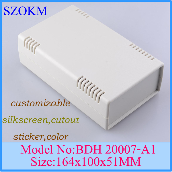 1 piece free shipping plastic box for electronic project  plastic electronic enclosure 164X100X51 MM<br><br>Aliexpress