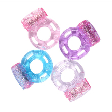 Buy 50pcs Butterfly Men's Sex Adult Aid Toys Vibrating Cock Penis Sleeve Ring Cockring Vibrator Rings