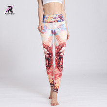 Buy Women Yoga pants Sport Leggings Floral Fitness Running Tights Push Hips Compression Sportswear Gym Workout Fitness Running Tight for $16.85 in AliExpress store