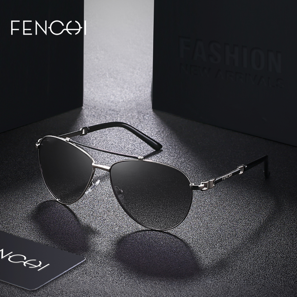 FENCHI Sunglasses Women Brand Designer Glasses Driving Pilot trendy vintage Sunglasses retro mirror oculos feminino