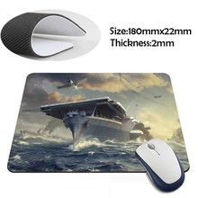 world of warships fight on the sea New Arrivals Mouse Pad Computer aming Mouse Pads