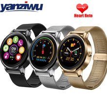 YANZIWU F1 Smart Watch Phone Bluetooth Fitness Tracker Hands Free Call Sport Smartwatch Hombre Heart Rate Monitor Android IOS(China)