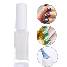 BORN PRETTY 10ml Clear Nail Foil Adhesive Glue Star Glue For Nail Foils Transfer Paper Manicure Nail Art Tool(China)