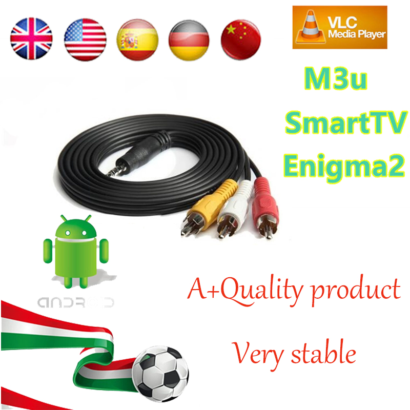 1 Year Europe French Arabic IPTV 1150+Live TV IPTV Support Android box/M3U/ENIGMA2/MAG250 for ITALY Germany Belgium UK Sweden<br>