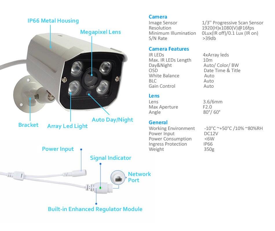 8ch poe security kit K8N76W54I2T-5336P 8-3