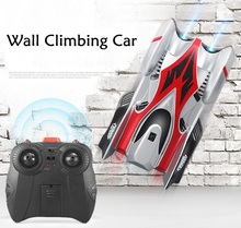 NEW wall climer R/C mini car RC drift 360 degree climbing USB charging concept upgraded boy gift creative toys(China)