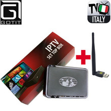 Super Italy IPTV MAG254 Box 1400+ Europe Channels HotClub XXX Portugal France UK Albanian PyaTV Linux OS ST Chipset Set Top Box