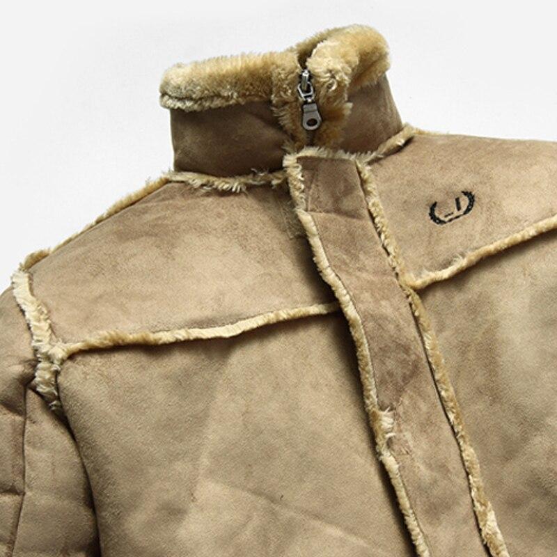 Mens Winter Warm Bape Clothing New Arrivals 2017 Mens Faux Fur Leather Jacket and Coats Super Quality Cool Mens Fur Coat C231