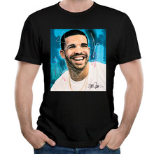 Man Best rap Drake Hold On We're Going Home Round Neck man T shirt O Neck Cotton Fashion printed t shirts for man