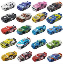 Pixar Cars2 Lightning McQueen 1:55 Diecast Alloy Toys National version number car Long brother Birthday Christmas Gift For Kids