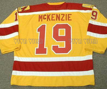 19 Johnny Mckenzie Philadelphia Blazers Hockey Jersey 16 Derek Sanderson Stitched Men Throwback Ice Hockey Jersey Free Shipping(China)