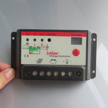 10A 12v/24v automatic conversion LED solar panels street light household charging system controller