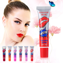 New Brand Easy Peel Off Lip Gloss Mask Waterproof Long Lasting Makeup Tattoo Matte Tint Lip Gloss Lipstick Women Balm Cosmetic