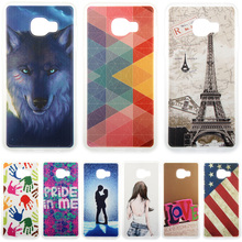 Fashion Personality Painted patterns Soft TPU Back cover For Samsung Galaxy C5 C5000 SM-C5000 Cell Phone Protective Case