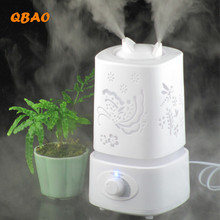 Humidifier Ultrasonic Aromatherapy Aroma Diffuser Air 110-240V+Free one Fragrance Bag, Essential Oil Diffuse Aroma Lamp