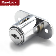 LHX BJA50 Push Window Lock 45mm*46mm Zinc Alloy Simple Cabinet Box Sliding Door Furniture Locks