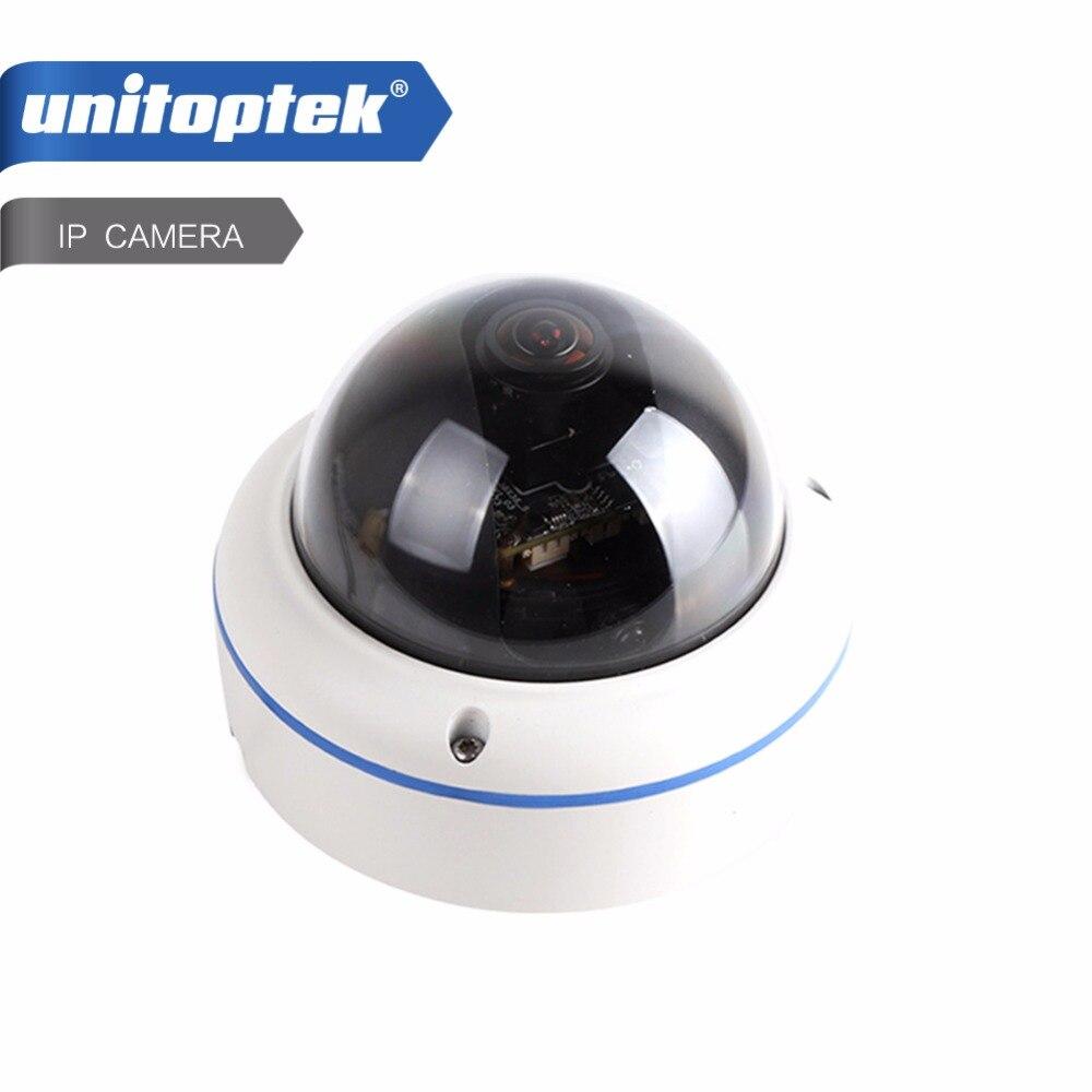 HD 720P Dome IP Camera Network 120 Degree View Outdoor Waterproof 1.0MP POE IP Camera Onvif P2P Cloud Fisheye Lens APP View<br>