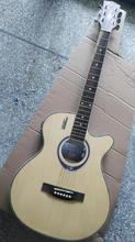 thin body electric acoustic guitar(China)