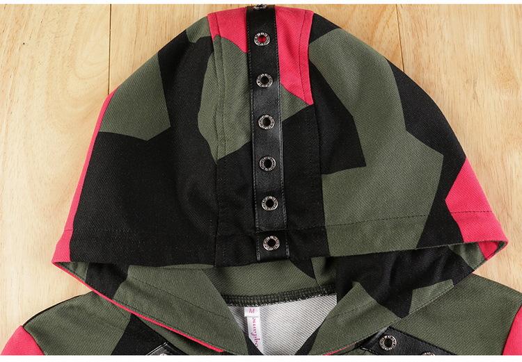 17 Women 2 Two Piece Set Camouflage Sporting Suit Femme Hoodies Sweatshirt Top And Pants Sweatsuit Set Casual Runway Tracksuit 11