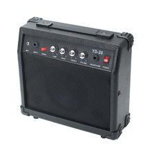 New 20W Mini Electric Guitar Amplifier Speaker Micro Speaker With Portable Handle For Guitar Learners AC 220-240V