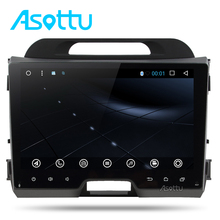 Asottu CZP9060 2G android 6.0 car dvd gps player navigation 2 din car gps video gps for KIA sportage 2014 2011 2012 2013 2015