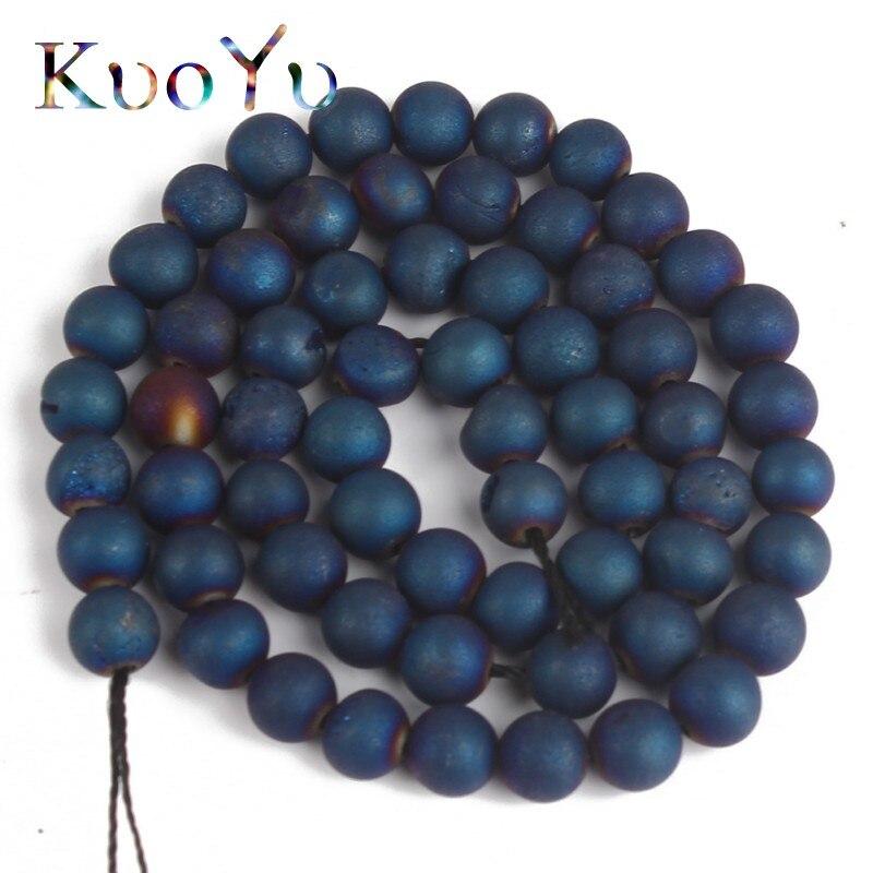 50 unidades perlas metalizado 8 mm verde perlas bricolaje joyas perlas k5