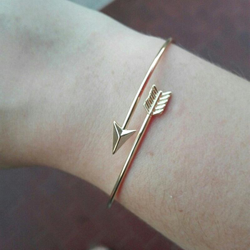 SL152-Gothic-Punk-Women-Ladies-Arrow-Bangle-Cuff-Bracelets-Jewelry-Open-Adjustable-Arrow-Bracelet-Bangles-Pulseiras