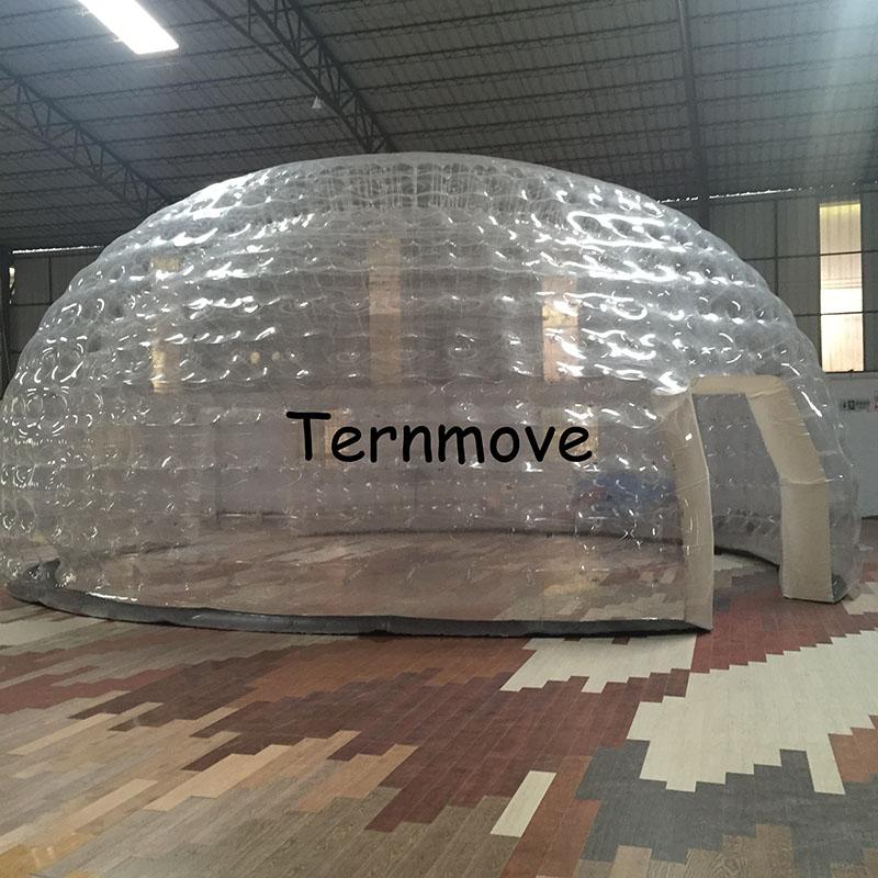 Inflatable backyard tent