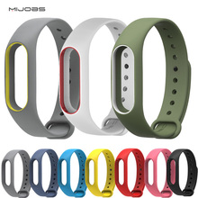 Free shiping Xiaomi Mi band 2 Strap Colorful Wristband Replacement Smart Band Accessories Silicone - MAIZI Store store